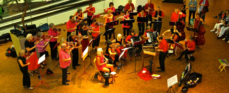 Prova Folklore Orchestra Winterthur unter der Leitung von Urs Bösiger